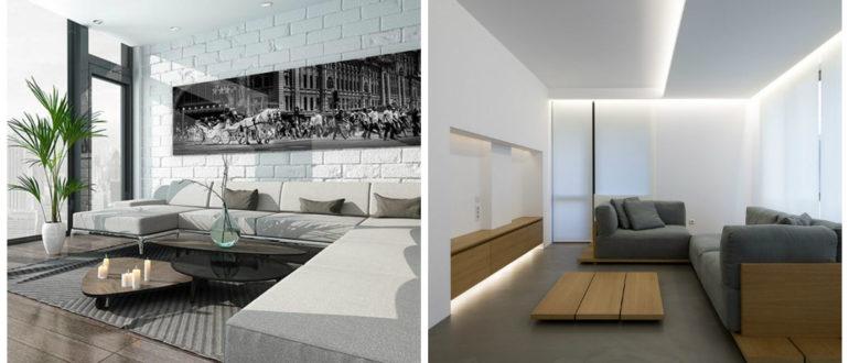 Decoracion de interiores minimalista- combinaciones muy escasos y hermosos