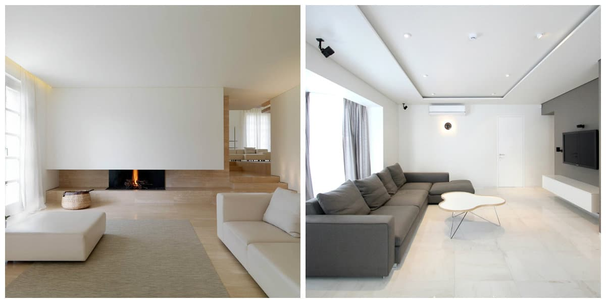 Decoracion de interiores minimalista- uso de unos pococ muebles