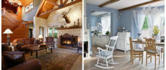 Decoracion rustica- el uso de madera para el techo y los muebles