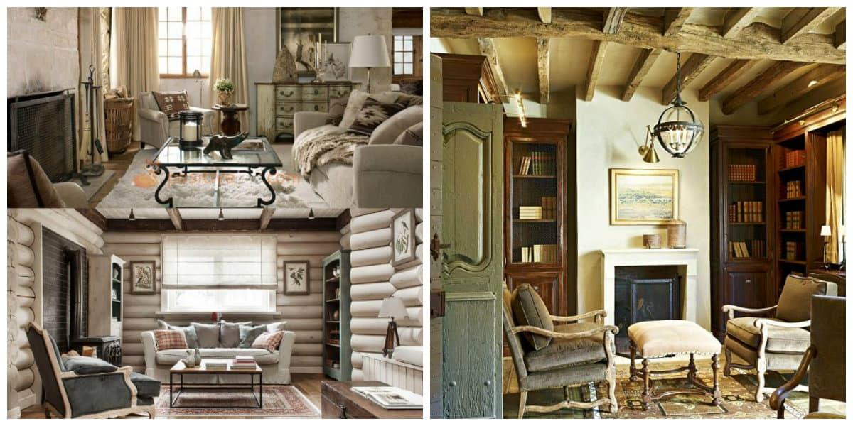Decoracion rustica de interiores- algunas variantes que te pueden interesar