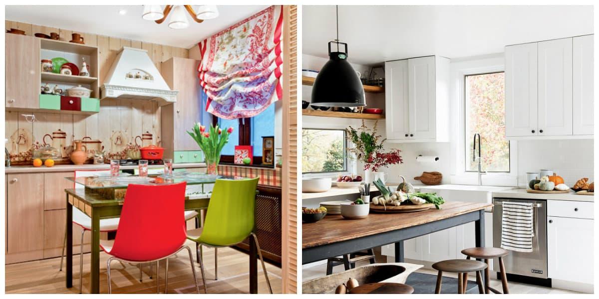 Decoracion rustica de interiores- cocina de estilo rural muy perfecta