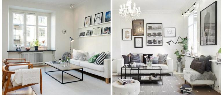 Diseño escandinavo- uso de diferentes atributos en tu apartamento de moda