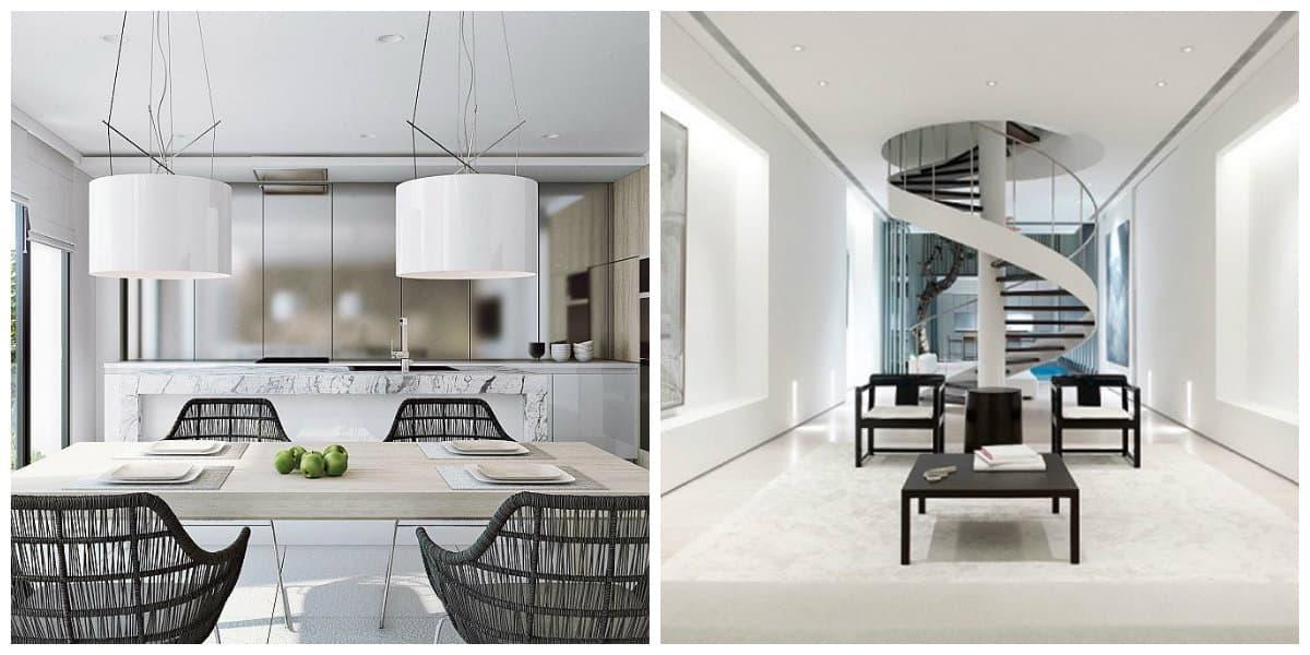 Diseños de casas modernas- tendencias principales en uso
