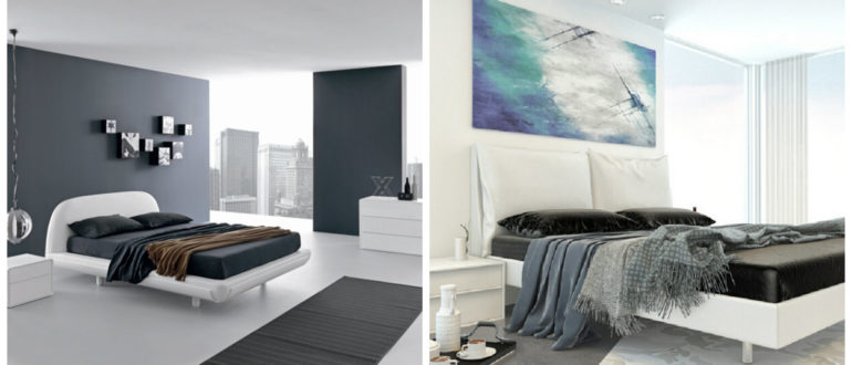 Dormitorios minimalistas- uso de algunos artibutos que van con esta tendencia