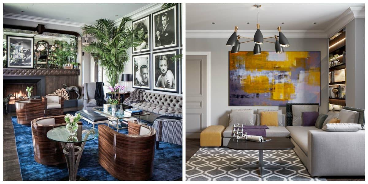 Estilo art deco- casas decoradas en estilo que aparece en Gran Gatsby
