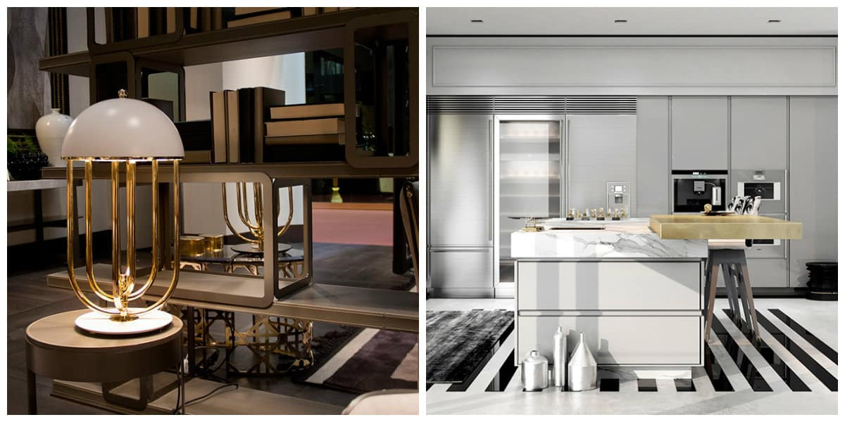Estilo art deco- uso de diferentes y variables muebles de moda