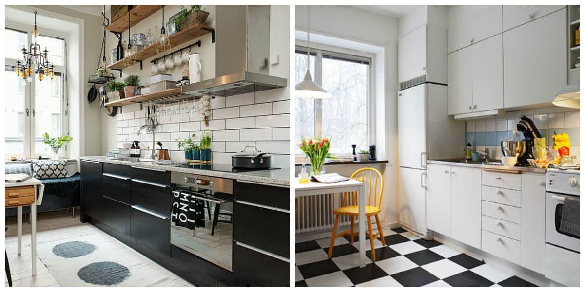 Estilo escandinavo- cocinas en este estilo se ben muy diversas y varias