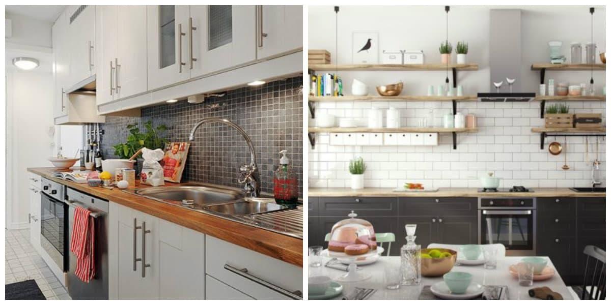 Estilo escandinavo- hay muchos atributos en el interior de cocinas escandinavas