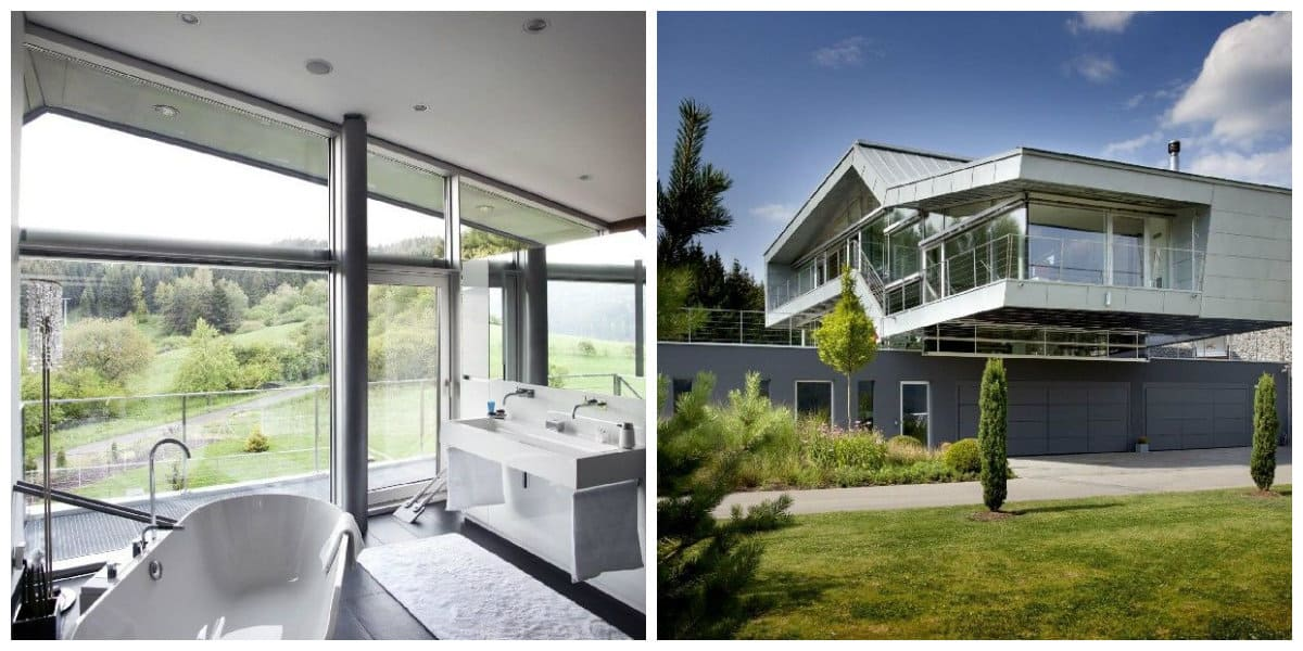 Estilo high tech interiores- uso de alta tecnologia en casa