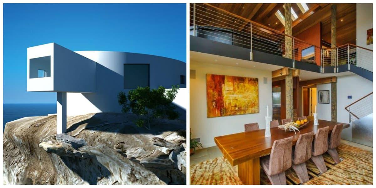 Estilo high tech interiores- tanto interiores como exteriores de moda