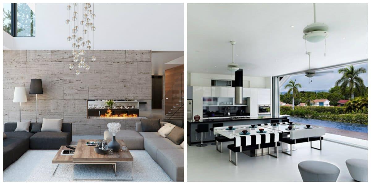 estilos de casas modernas las ideas originales del exterior y el interior. Black Bedroom Furniture Sets. Home Design Ideas