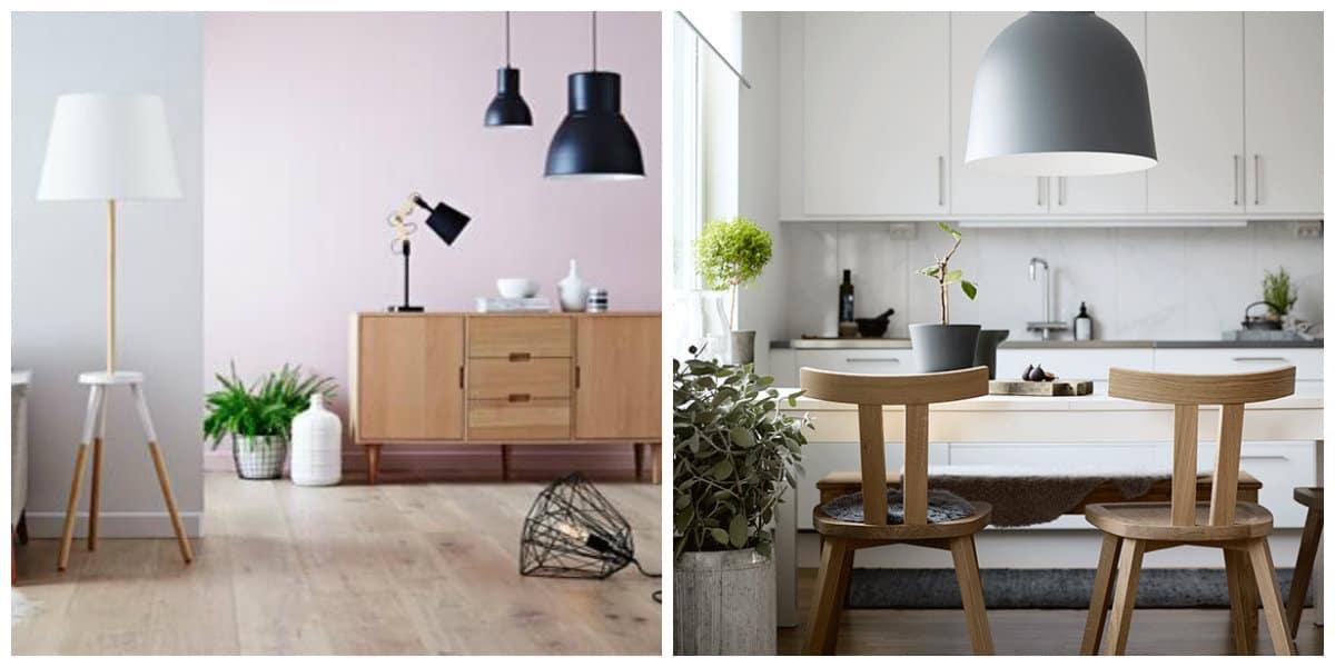 Lamparas estilo escandinavo-colores muy frios y no tan brillantes de moda