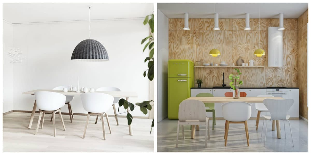 Lamparas estilo escandinavo- como elegir una lampara adecuada para tu cocina y comedor