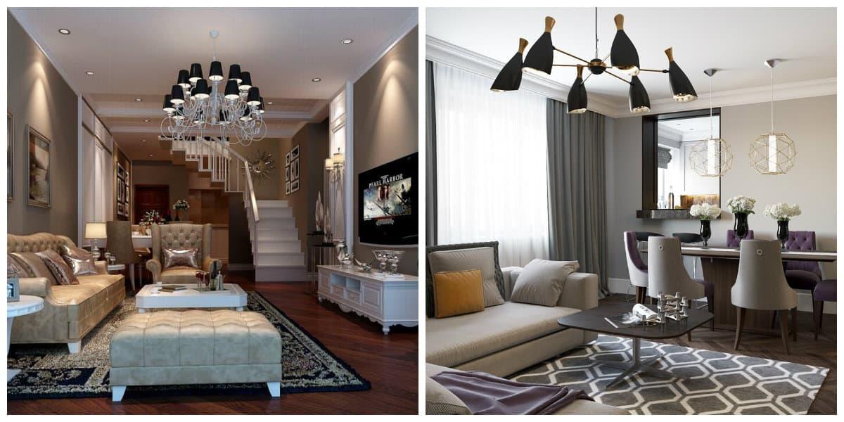 Muebles art deco- salas de estar decoradas con muebles modernos