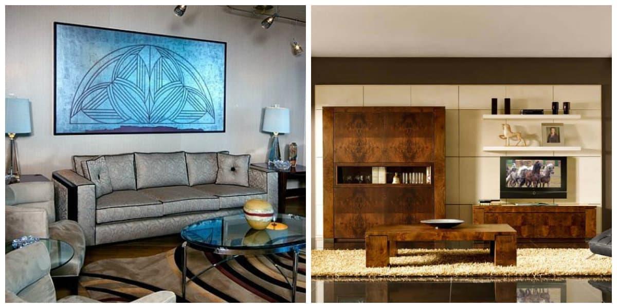Muebles art deco- ideas para tu sala de estar en estilo moderno