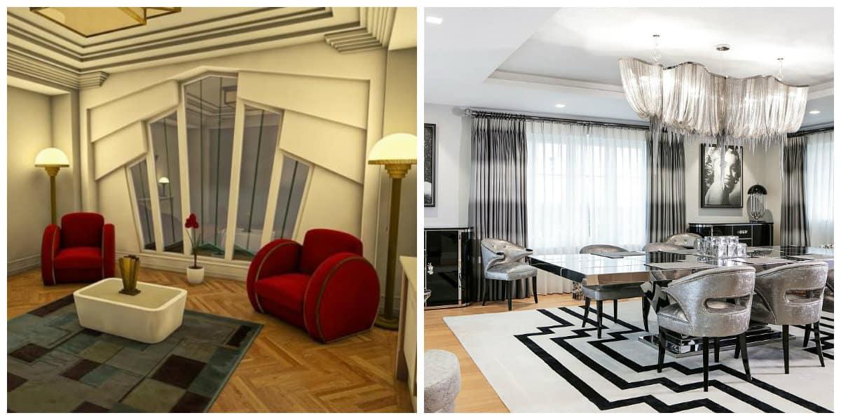 Muebles art deco- tipos de muebles para tu sala de estar