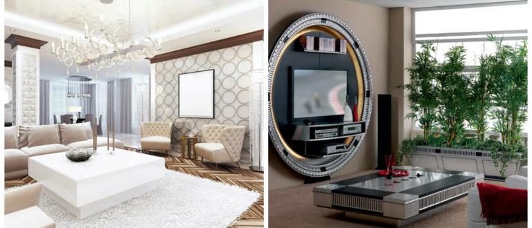 Muebles art deco- uso de tales atirbutos como espejo muy grande