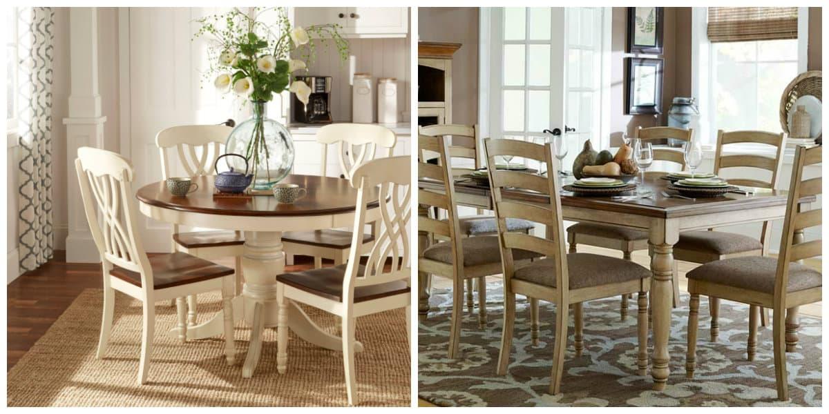 Muebles estilo campo- el color blanco esta sempre de moda