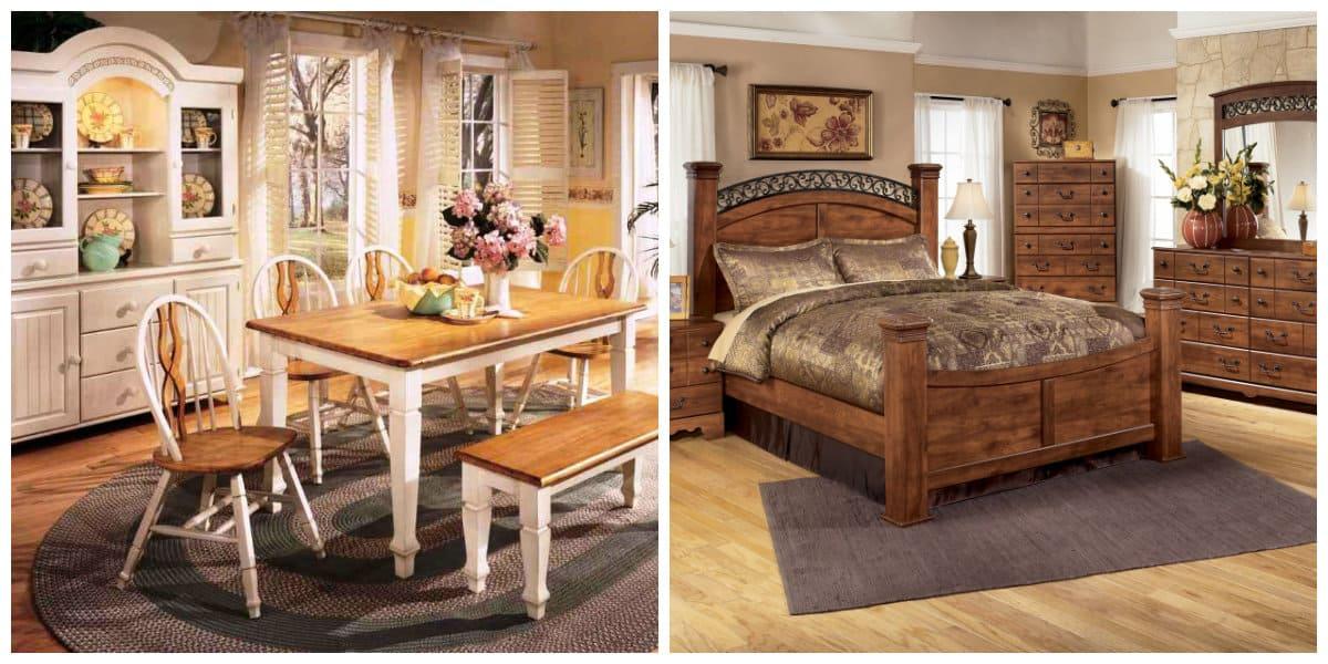 Muebles estilo campo- algunas novedades en la esfera de los muebles