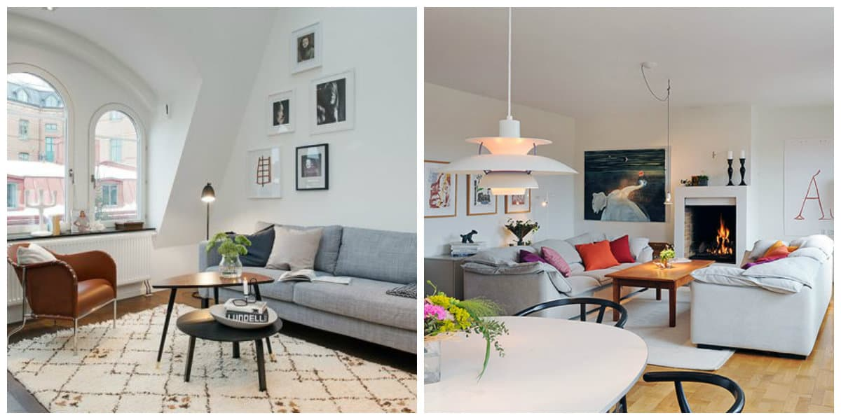 Sala estilo escandinavo- ideas brillantes y elegantes para tu apartamento de moda
