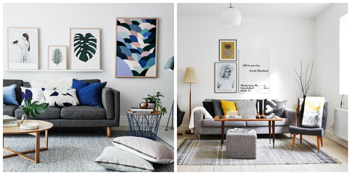 Sala estilo escandinavo- como organizar los muebles un tu sala de estar