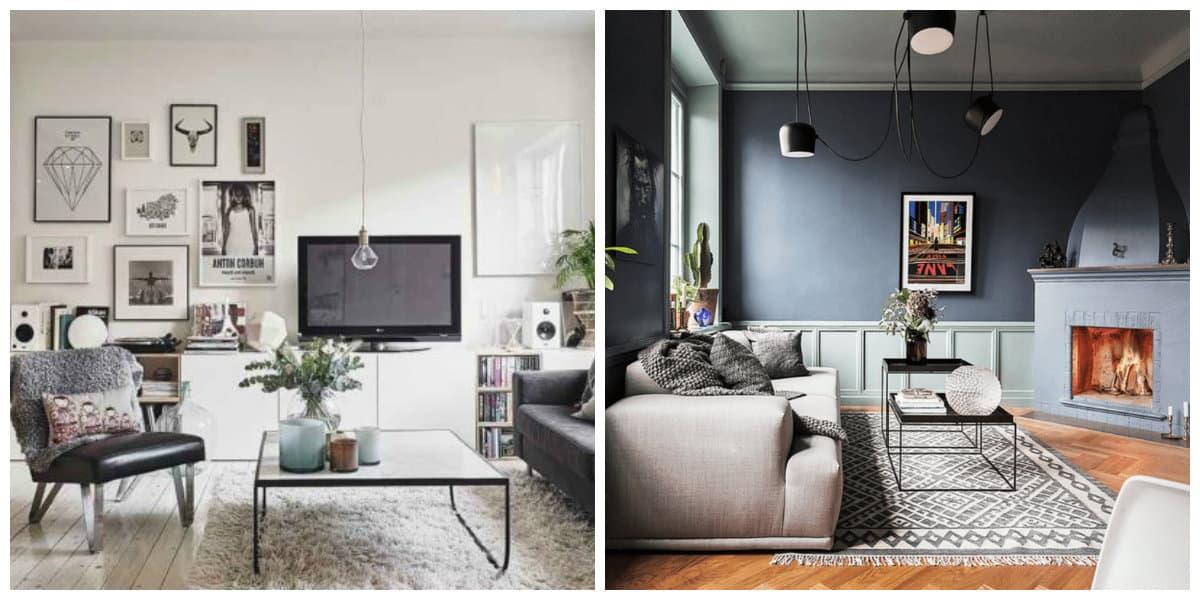 Sala estilo escandinavo- algunas ideas para tu sala de estar contmeporanea