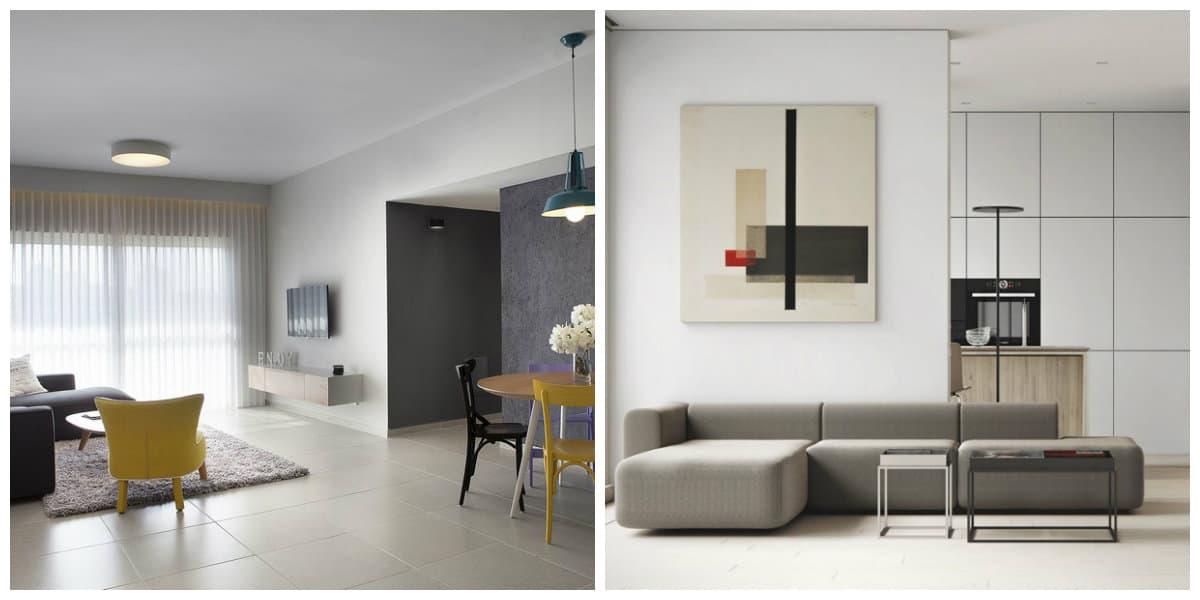 Apartamentos minimalistas- decoracion de moda