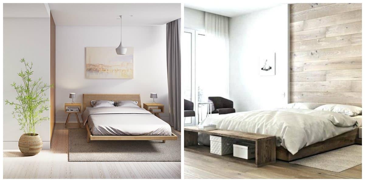 Apartamentos minimalistas- dormitorios modernos