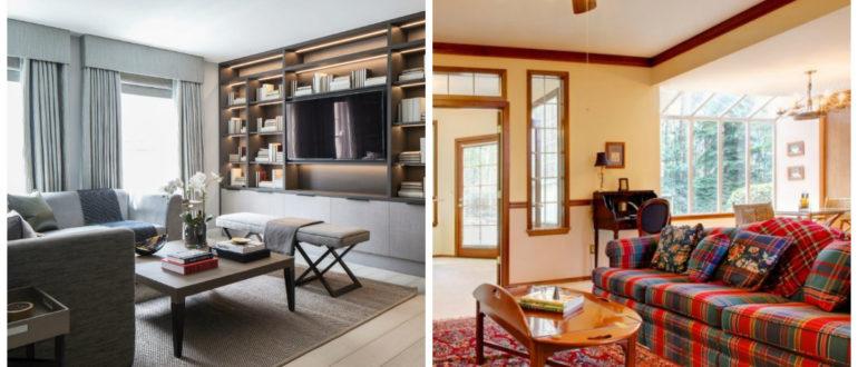 Casa estilo ingles- una gama de colores de moda