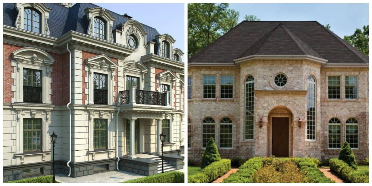 Casa estilo ingles- esxterior ingles de las casas