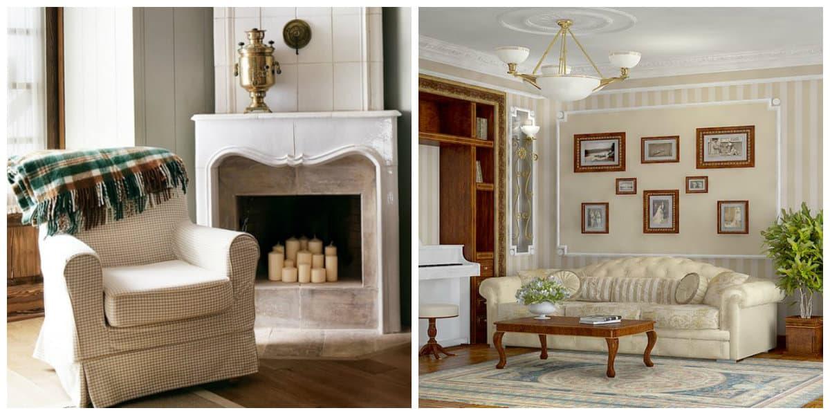 Casa estilo ingles- muebles muy modernas