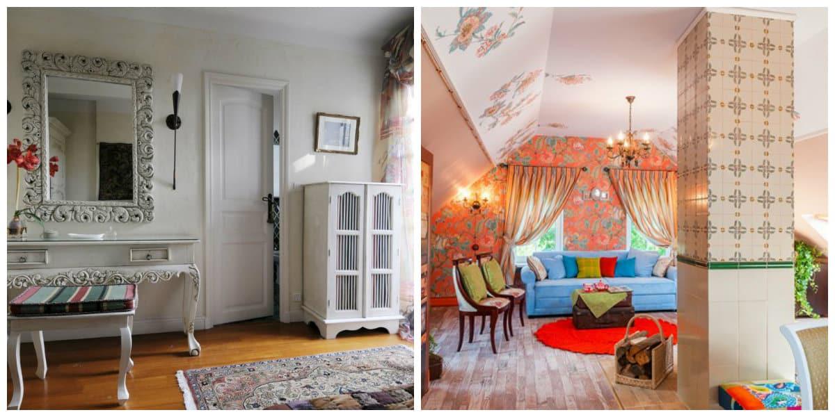 Casa provenza- colores varios en uso