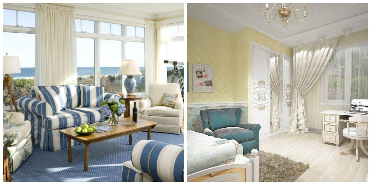 Casa provenza- salas de estar modernas