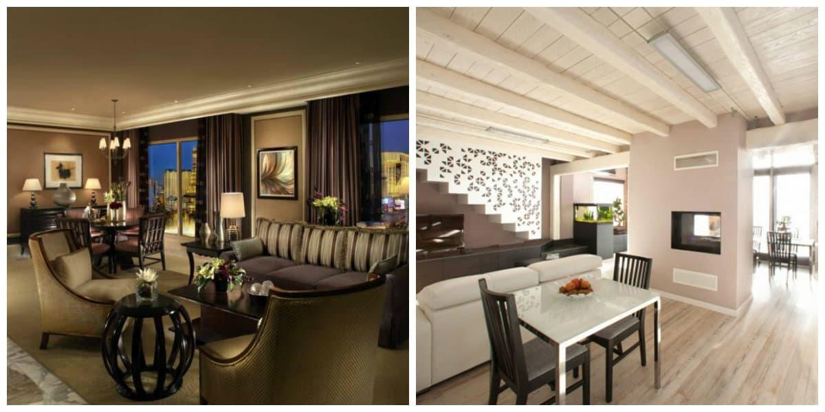 Casas estilo italiano- espacios diferentes para el uso