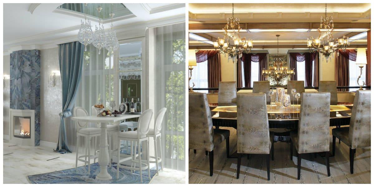 Casas neoclasicas- interiores muy modernas