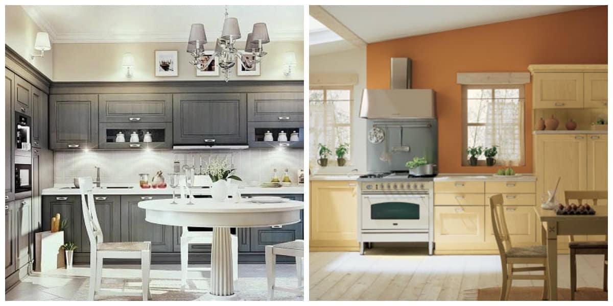 Cocinas estilo ingles- muebles adecuados