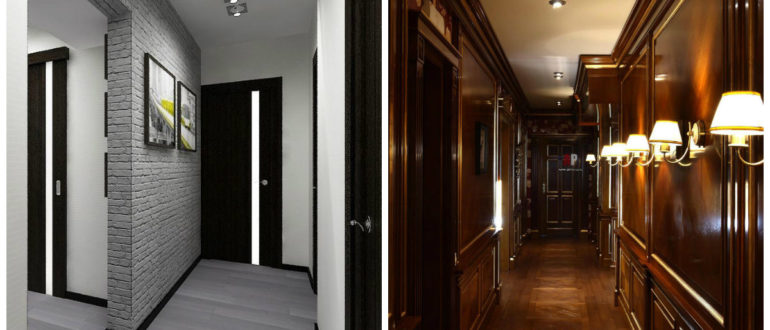 Decoracion de pasillos modernos- estilo ingles de entradas