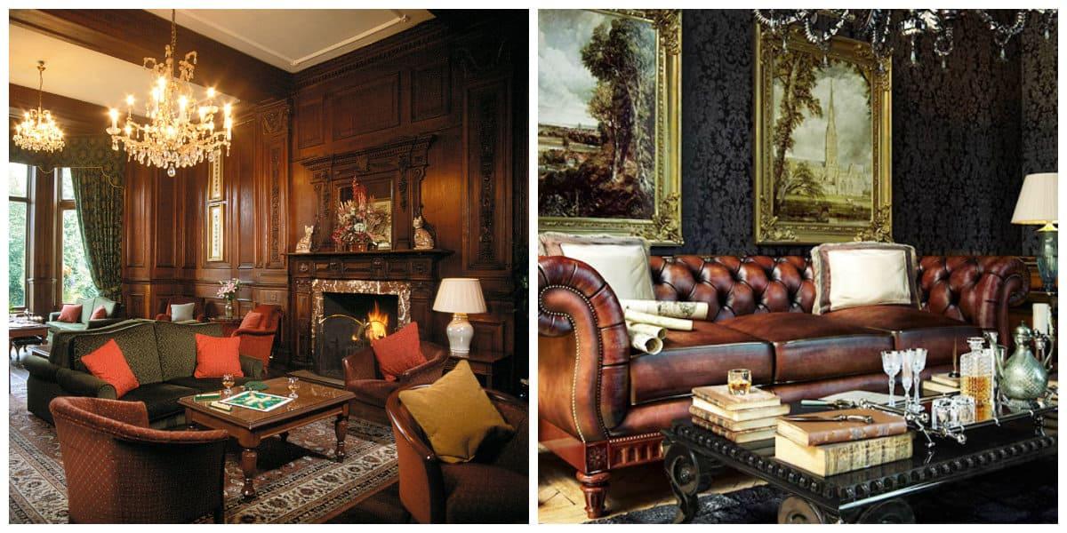 Decoracion estilo ingles- muebles modernas