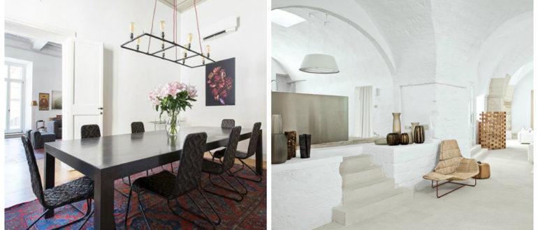 Decoracion estilo italiano- diseno de los salones de moda