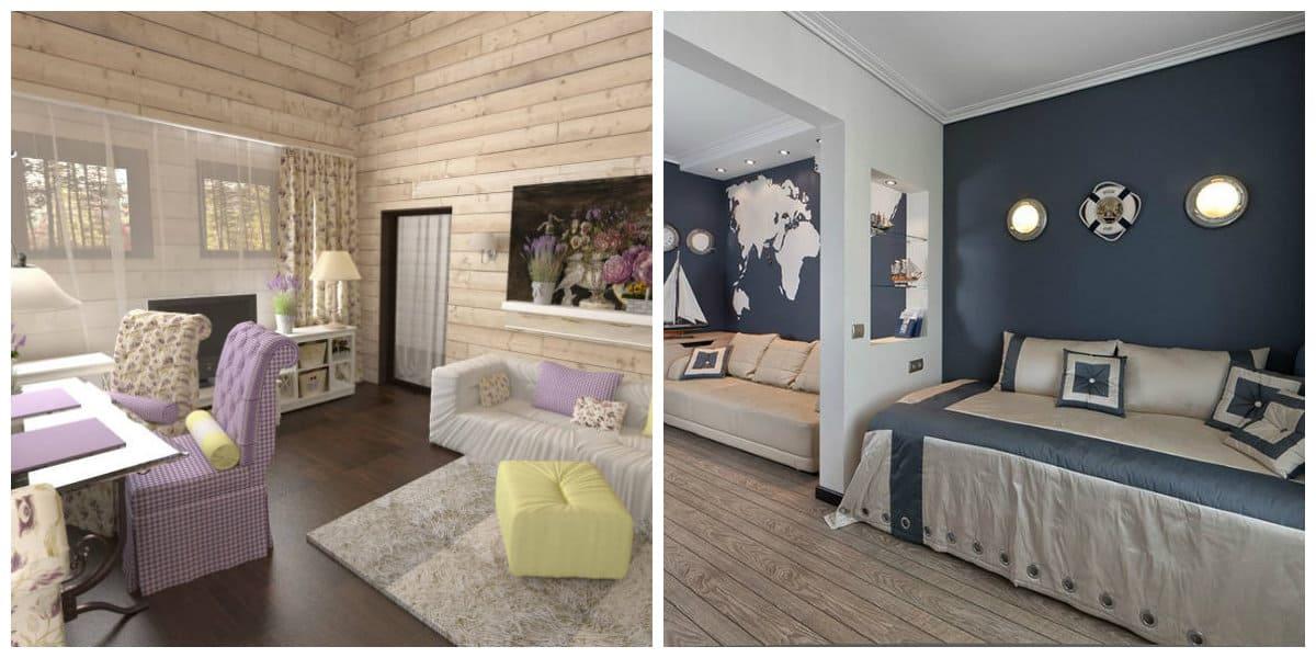 Decoracion estilo provenzal- dormitorios infantiles
