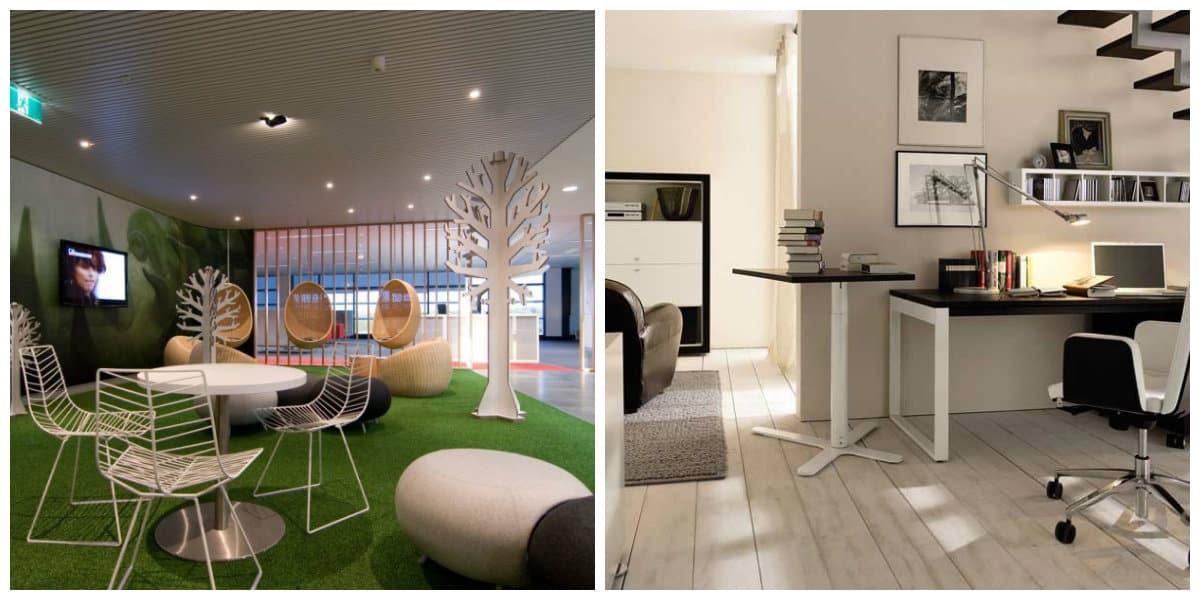 Diseño interior de oficinas: Las opciones de diseño y ...
