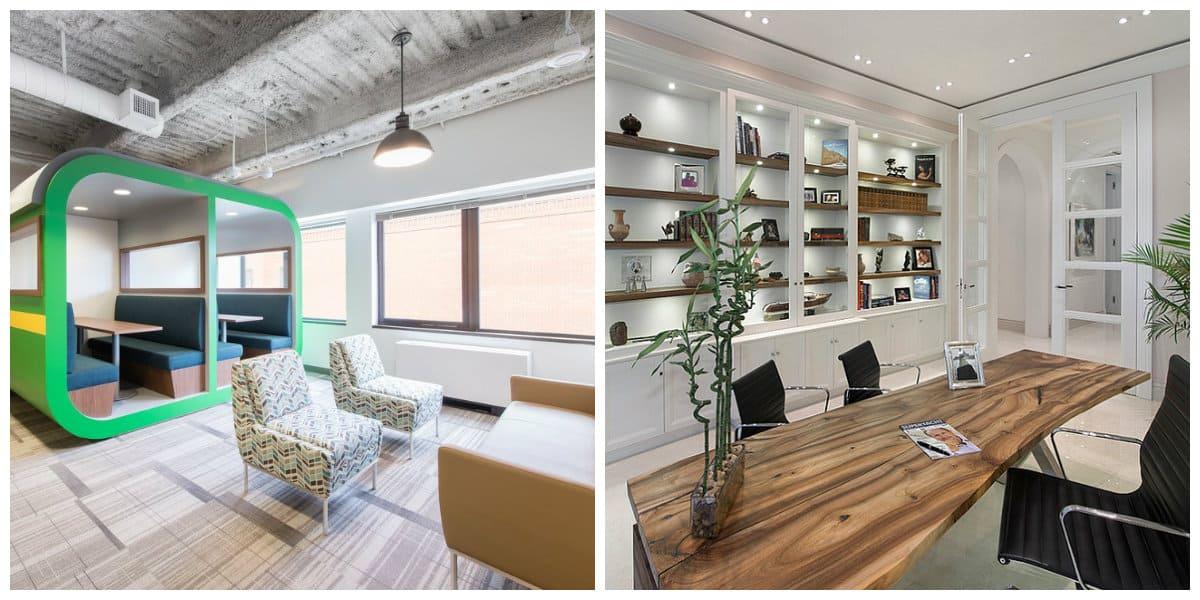 Diseño interior de oficinas- soluciones modernas para las oficinas