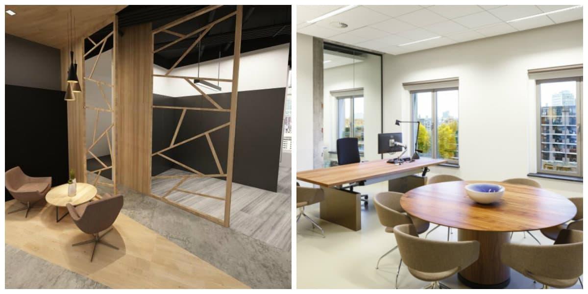 Diseño interior de oficinas- como ordenar los muebles de moda