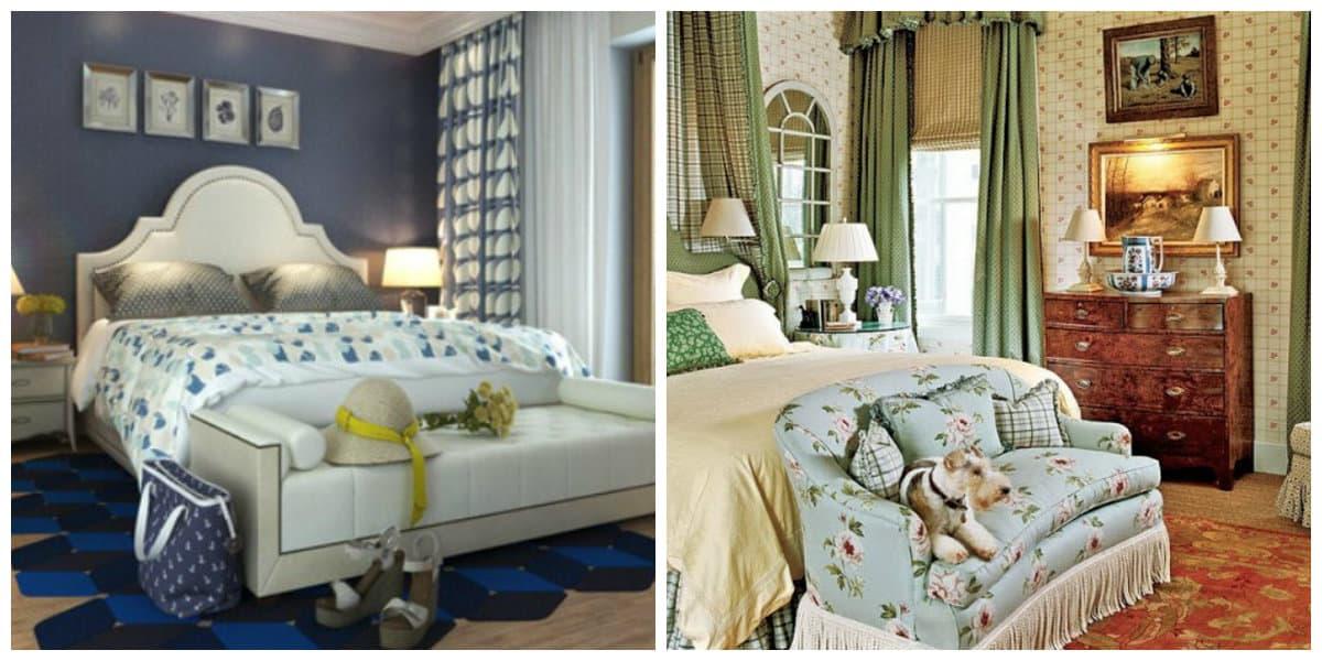 Dormitorio estilo ingles- decoracion de casa moderna