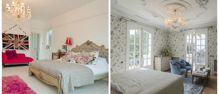 Dormitorio estilo ingles- colores muy calmantes