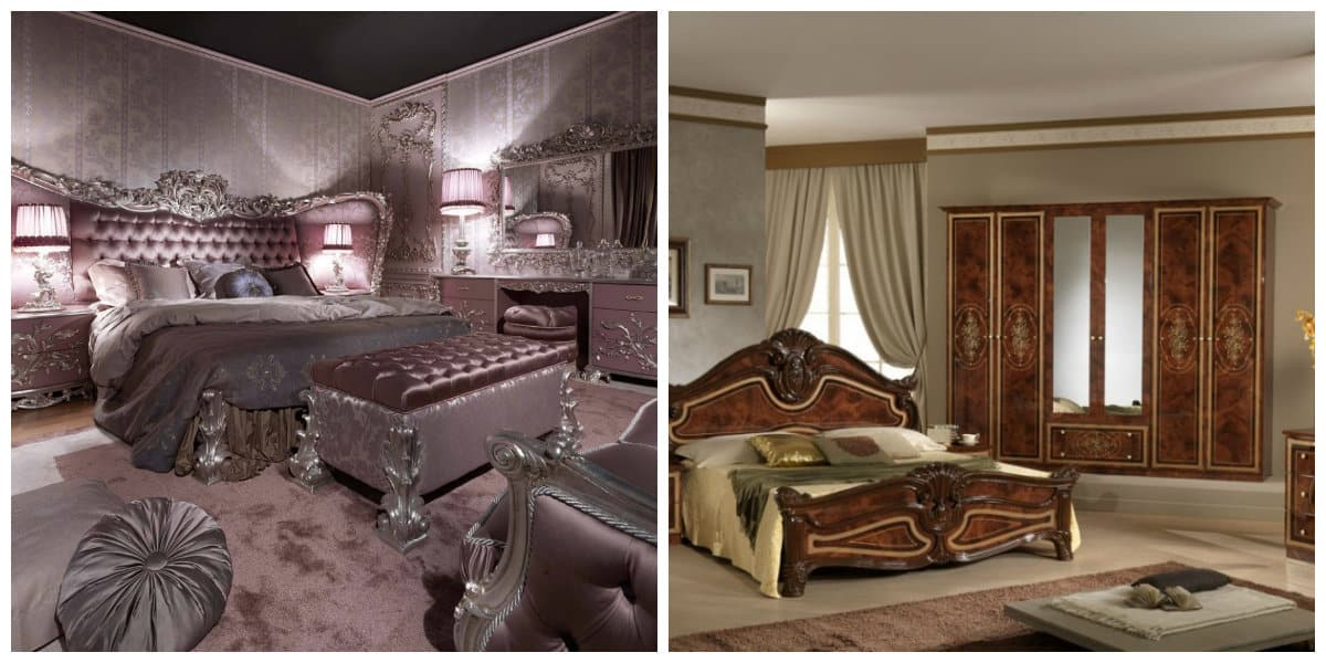 Dormitorios estilo italiano una variedad de opciones e - Dormitorio barroco ...