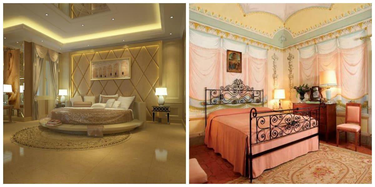 Dormitorios estilo italiano- habitaciones espaciosos