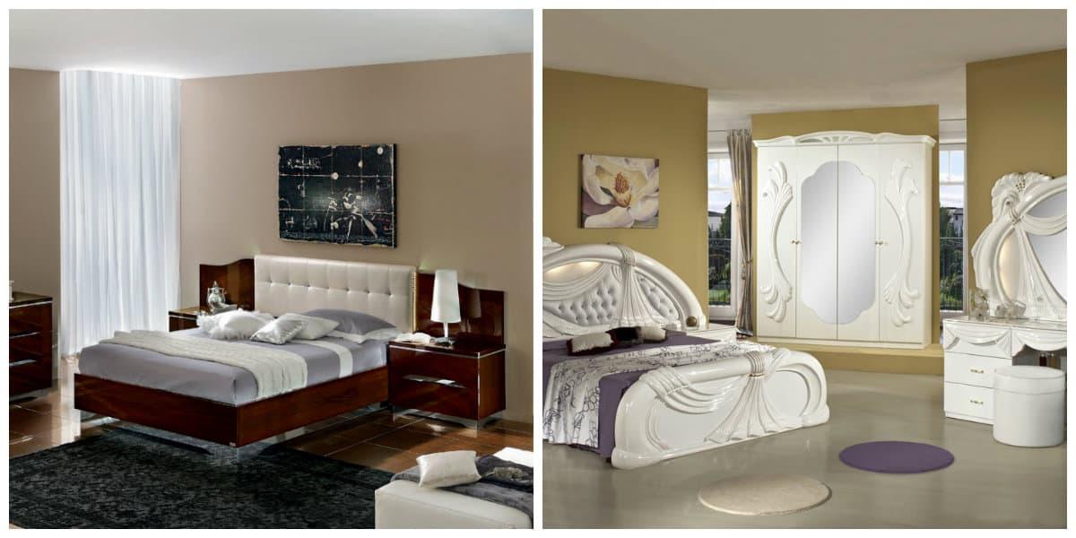 Dormitorios estilo italiano- amueblacion moderna