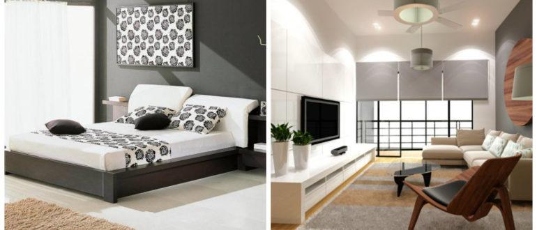Estilo high tech- dormitorios y salones de moda