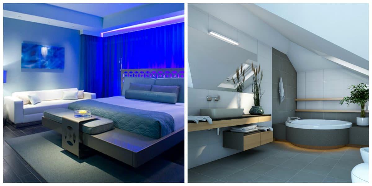 Estilo high tech- dormitorios de la modernidad